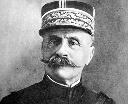Marszałek Foch wWarszawie